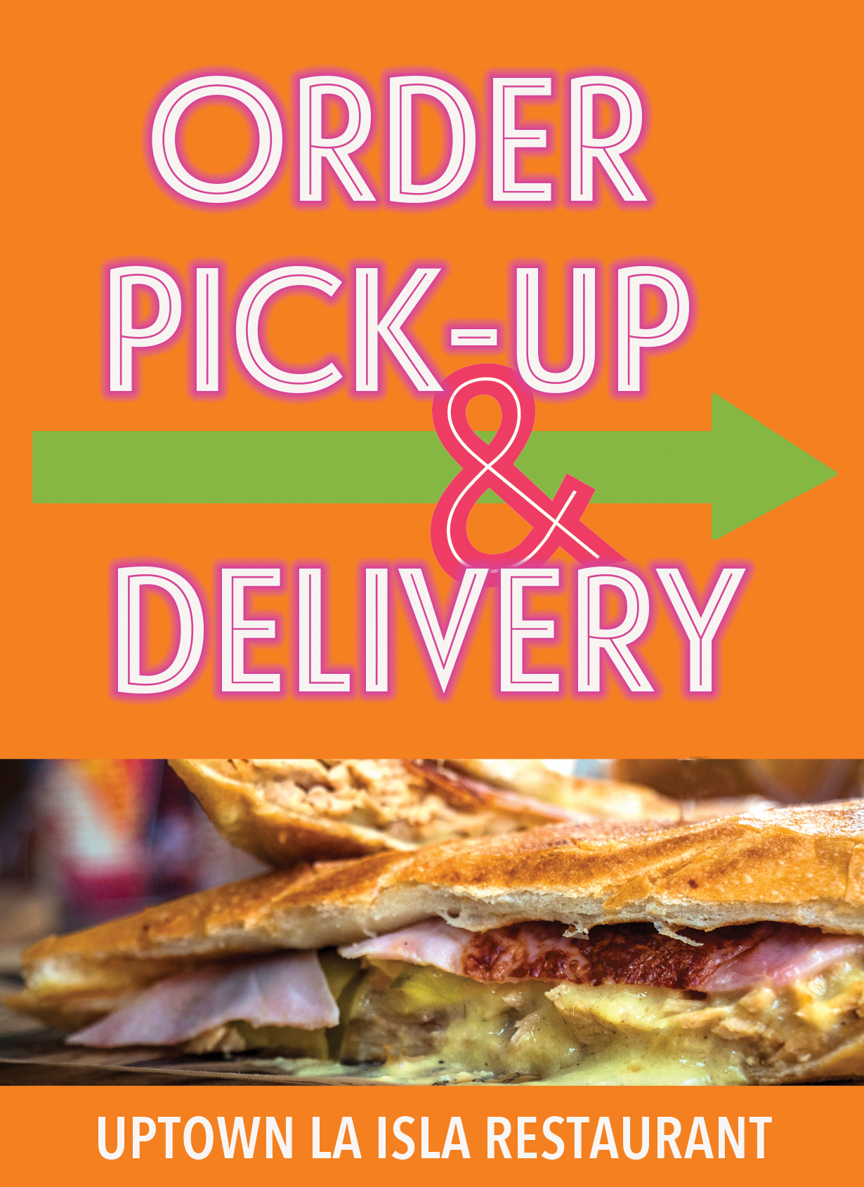 Pick Up & Delivery Uptown