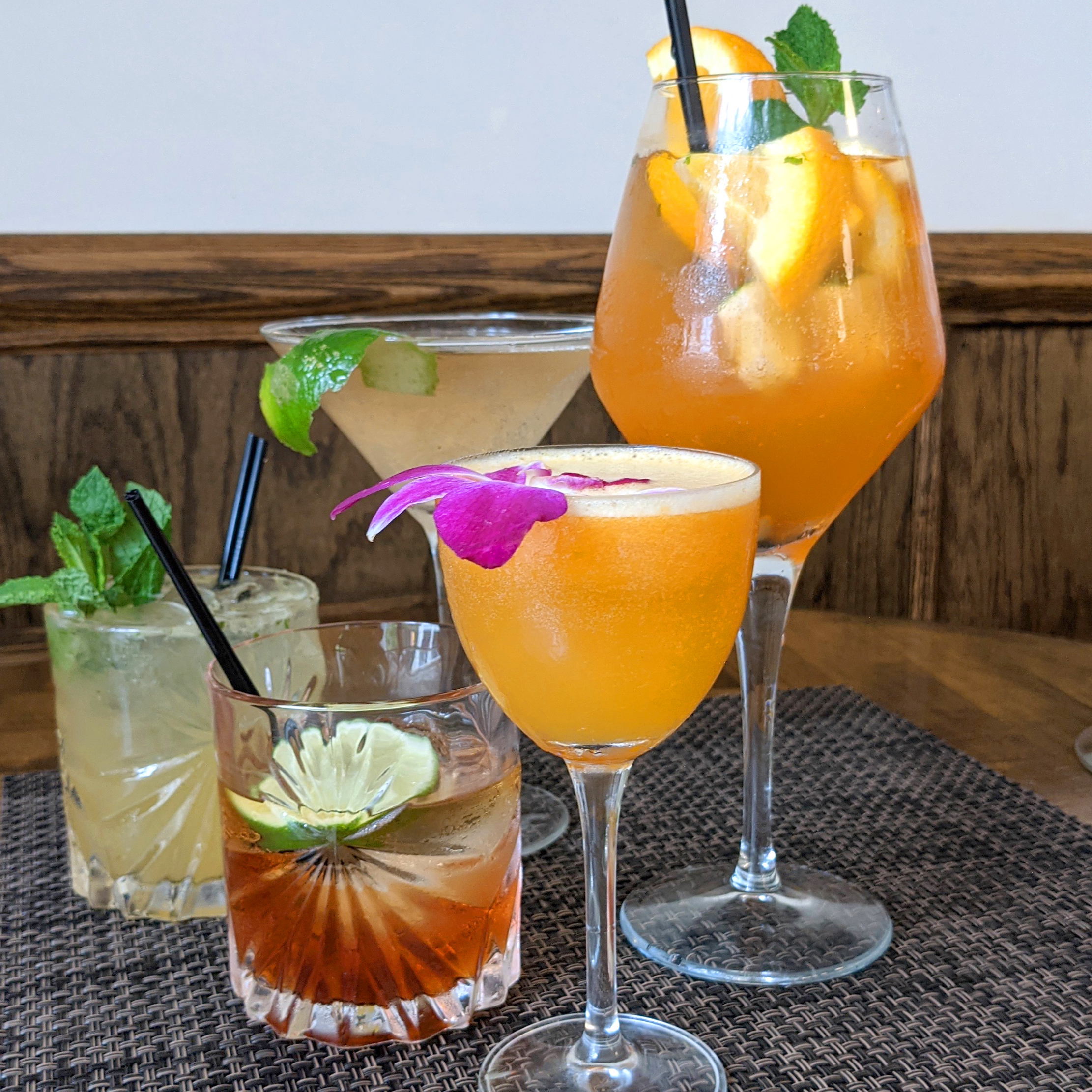 Spring Cocktails SQ